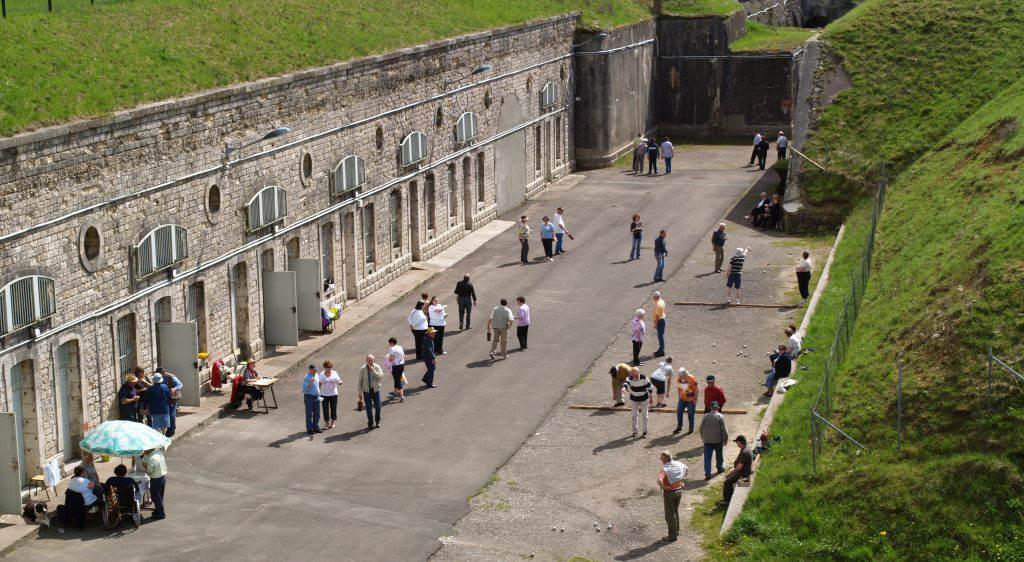 Visites guidées du Fort de Vézelois les mercredis