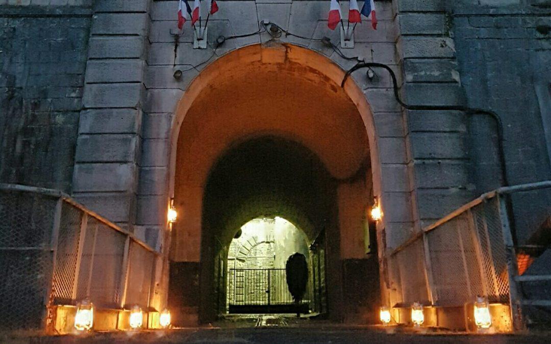 Visite nocturne du fort le 22 Septembre